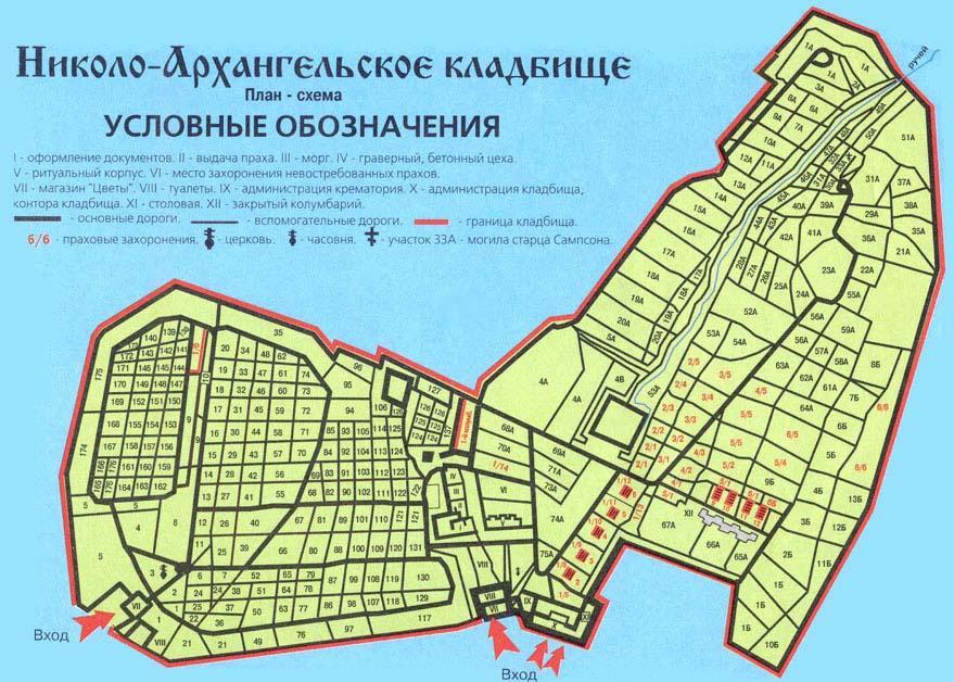 (Николо-Архангельский участок